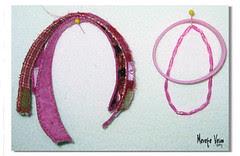 rosa :: bracelets :: pink