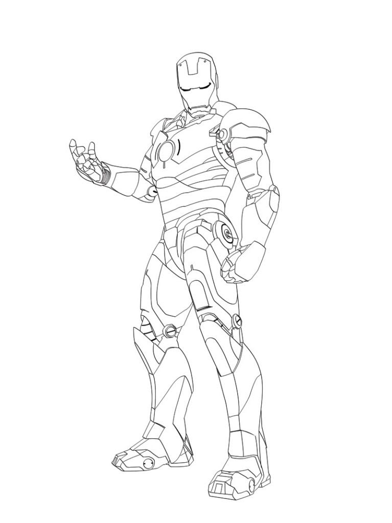 Iron Man 3 Coloring Pages at GetColorings.com   Free ...