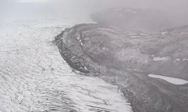 В Гренландии впервые в истории прошел дождь