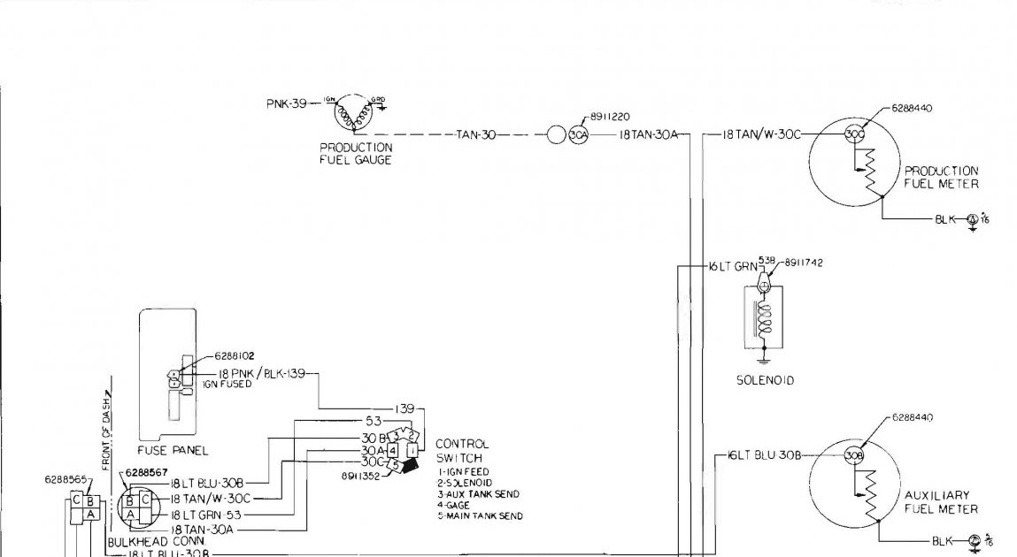 1978 Chevy Fuel Tank Wiring