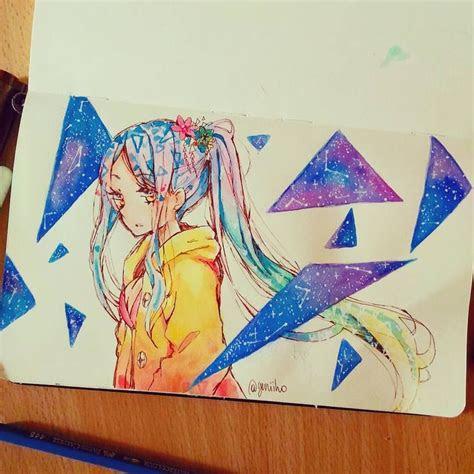pin  emilia castillo  chibicoloring anime art