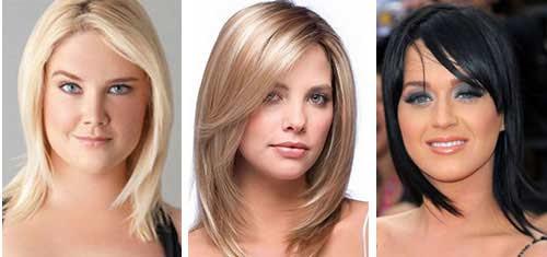 Modische Weibliche Frisuren Für Ein Volles Gesicht Curpurru