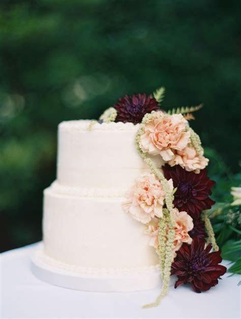 Top 20 Burgundy Wedding Cakes You'll Love   Deer Pearl Flowers