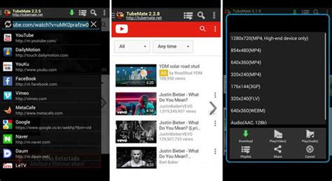 youtube  mp downloader  android  save