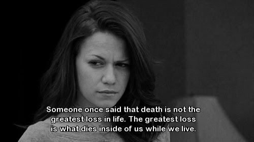 One Tree Hill Quote About Loss Life Dies Death Cq