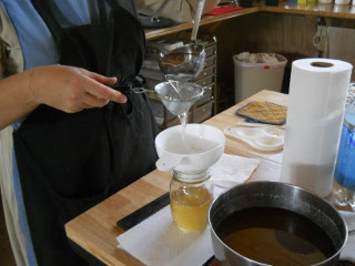 Straining the Bacon Grease