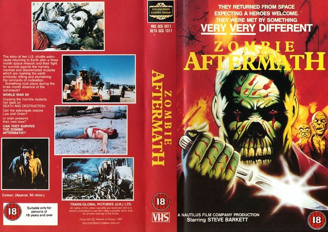 Zombie Aftermath (VHS Box Art)