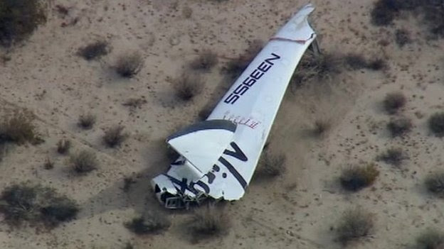 Spaceship two crash