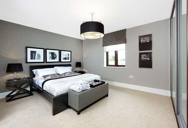 Paredes grises para dar calidez a las casas - Paperblog