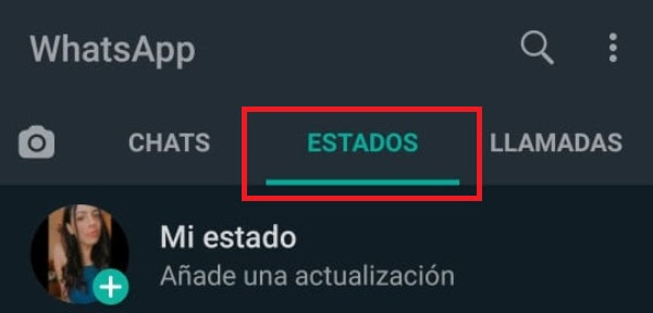 WhatsApp Estados notificaciones