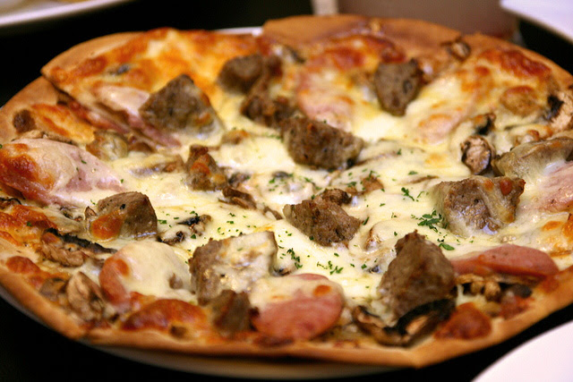 Picasso Pizza - choose your own toppings!