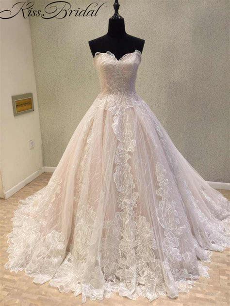 Newest Wedding Dress 2018 Vintage Lace Bride Dresses