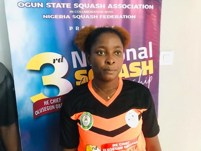 Busayo Olatunji Wins 3rd HE Chief Olusegun Obasanjo National Squash Championship