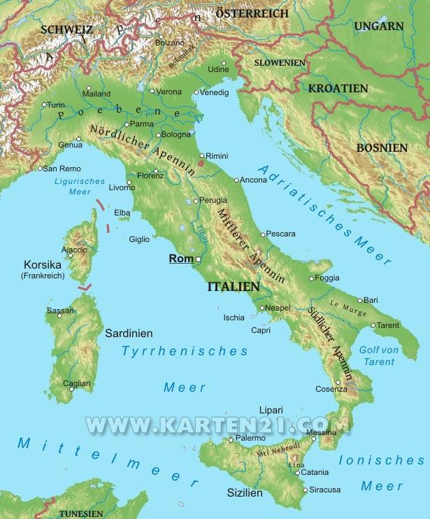 Gebirge Italien