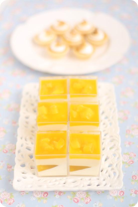 Mango Yogurt Panna Cotta Verrines