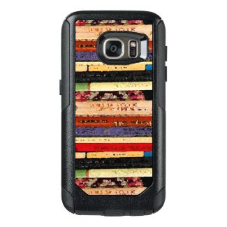 Books Abstract OtterBox Galaxy S7 Case