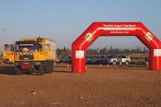 el camió de Rally Raid Services