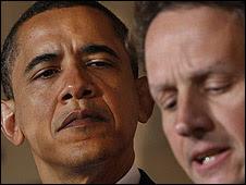 Obama, Geithner