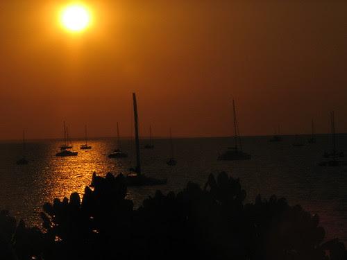 Sunset Fannie Bay, Darwin Sailing Club