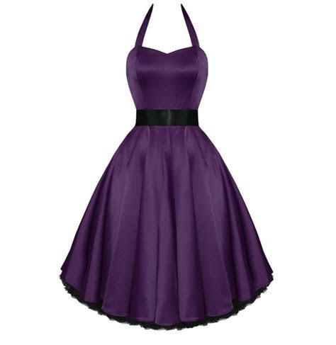 Purple satin 50's style dress, vintage purple dress, plus