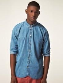 Paul Smith Jeans Raglan Sleeve Denim Shirt