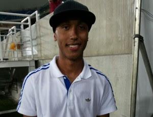 Paulinho, novo atacante do América-RN (Foto: Jocaff Souza/GloboEsporte.com)