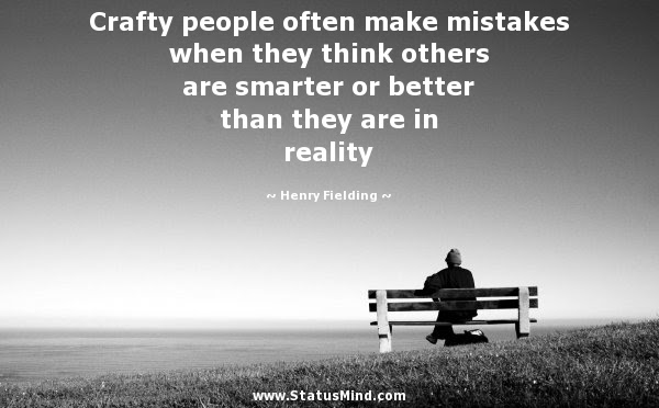 Crafty People Often Make Mistakes When They Think Statusmindcom