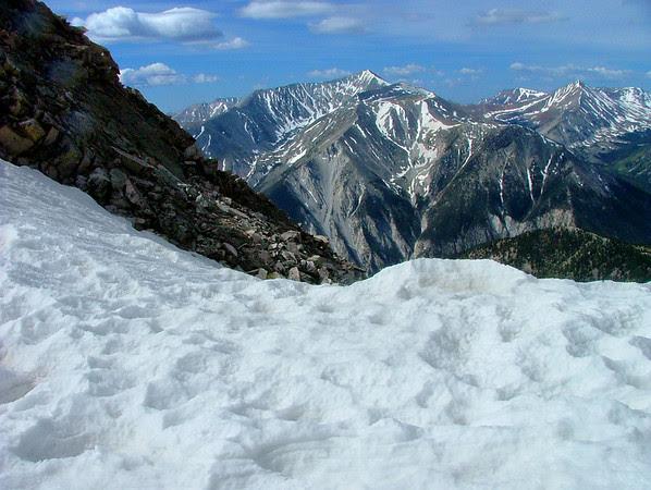 Mount Antero from Mount Princeton
