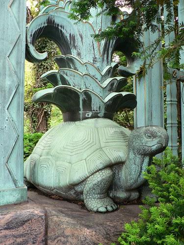 Turtle, Bronx Zoo Gates