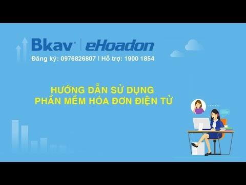 Hướn dẫn thêm mới hóa đơn điện tử trên phần mềm hóa đơn điện tử Bkav