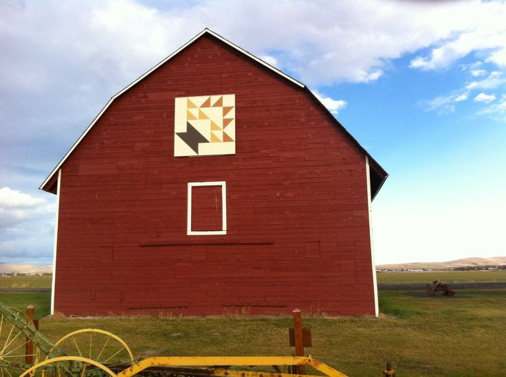 Barn Quilt. Kittitas County, WA