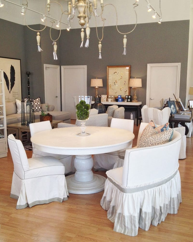 Iveston dining table, Curved dining bench and Low Back ...