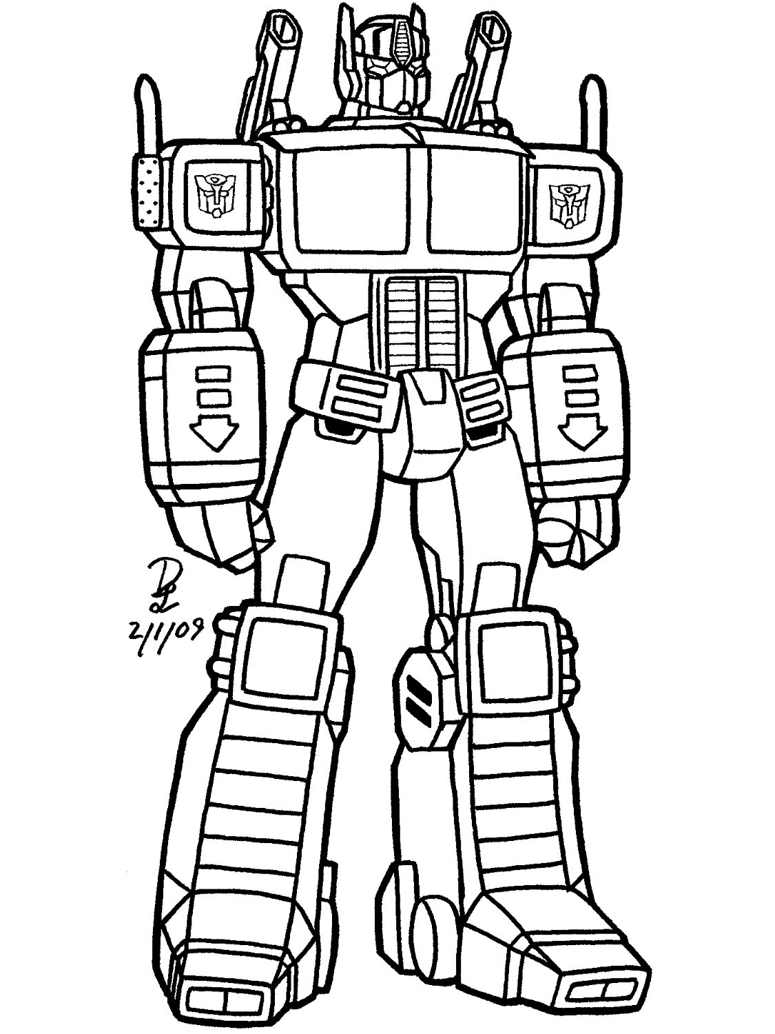 Transformer Drawing At Getdrawingscom Free For Personal Use