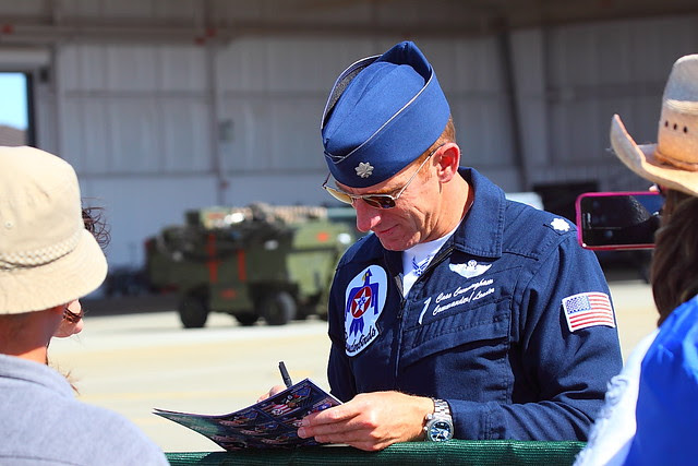 IMG_4757 Thunderbirds Pilot, Beale AFB Air Show, CA