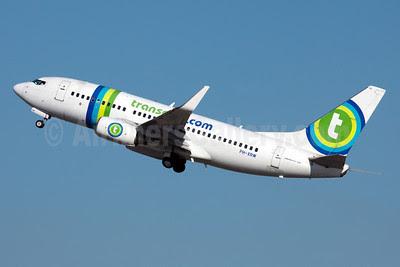 Transavia Airlines (Transavia.com) (Netherlands) Boeing 737-7K2 PH-XRW (msn 33465) BCN (Bernardo Andrade). Image: 910062.