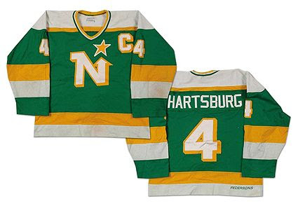 Minnesota North Stars 83-84 jersey, Minnesota North Stars 83-84 jersey