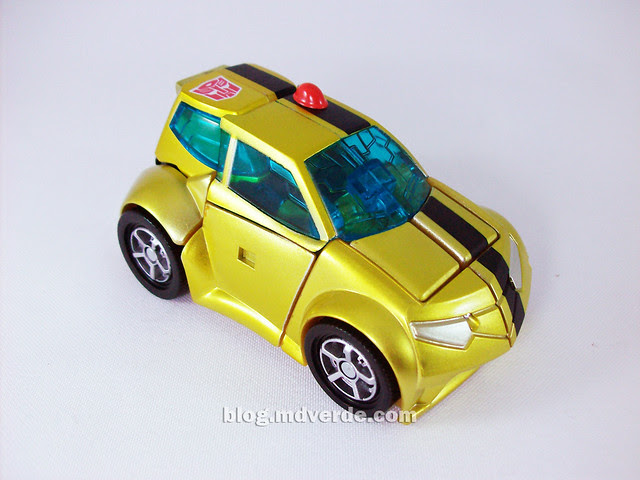 Transformers Jetpack Bumblebee Animated - modo alterno