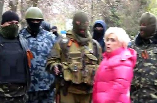 """""""Чому я маю бути в Донецьку? Я у своєму місті"""", - ексмерка Слов'янська Штепа, підозрювана в сепаратизмі, скуповується в київському супермаркеті - Цензор.НЕТ 643"""