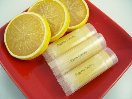 Sugared Lemons Handmade Lip Balm Vegan