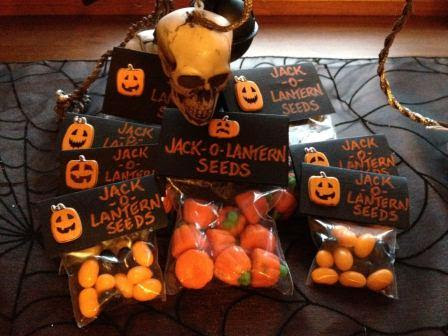 Jack O Lantern Seeds A Frighteningly Good Diy Halloween Gift Idea