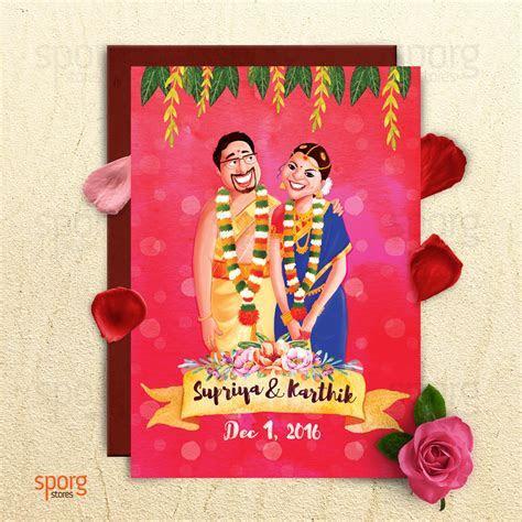 Illustrated Wedding Invitation Design Service   Sporg
