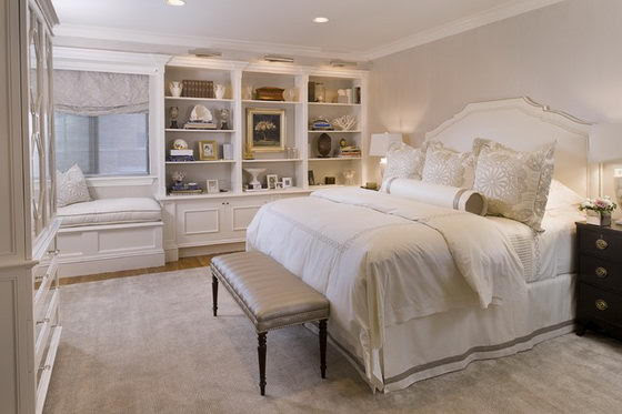 16 Beautiful and Elegant White Bedroom Furniture Ideas ...