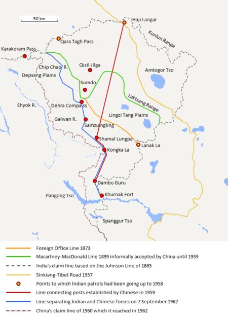 Aksai Chin Sino-Indian border map.png
