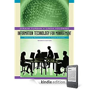 Kindle Edition of Information Technology for Management