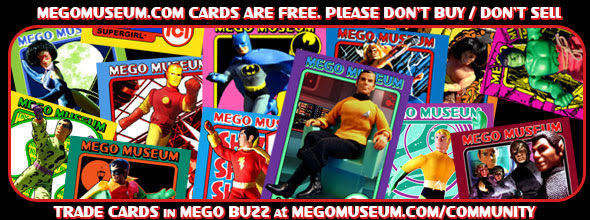 Mego museum trading cards are free click here to get your hands on some