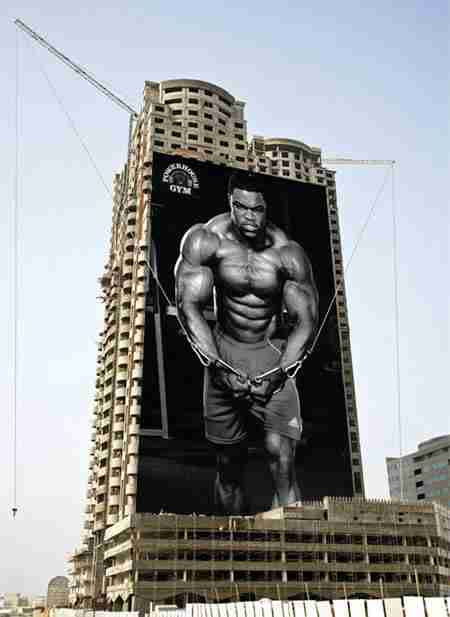 10 έξυπνες διαφημίσεις πάνω σε κτίρια
