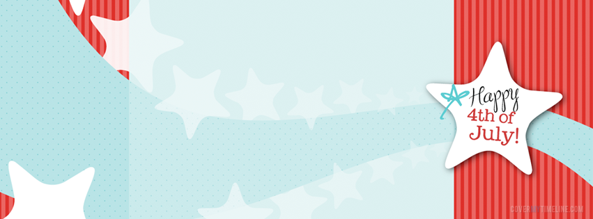 Independence Day Happy 4th Of July Star Free Facebook Covers