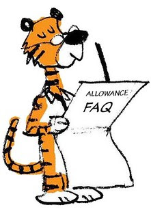 Allowance FAQ