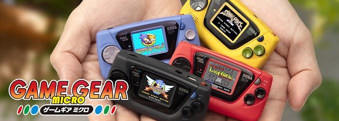 Revelação da Sega é o Game Gear Mini e a Fog Gaming