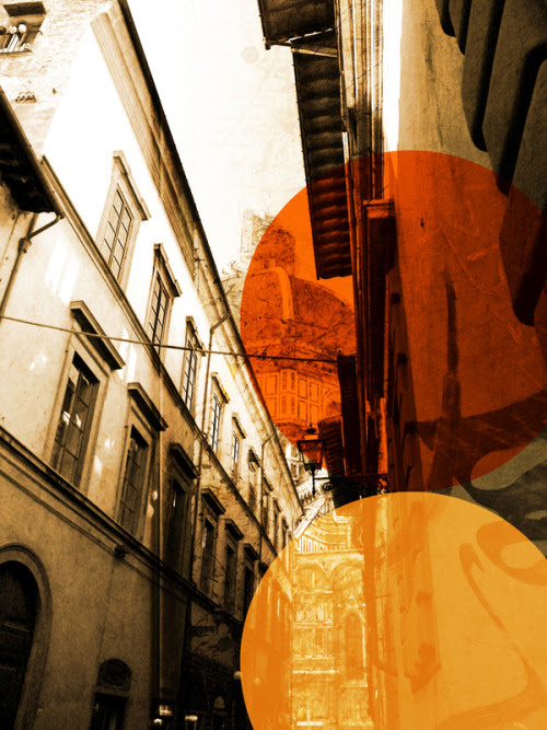 city street alley. orange, city street alley,